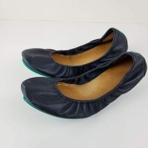 Tieks By Gavrieli Leather Ballet Shoes Flats Sz 9